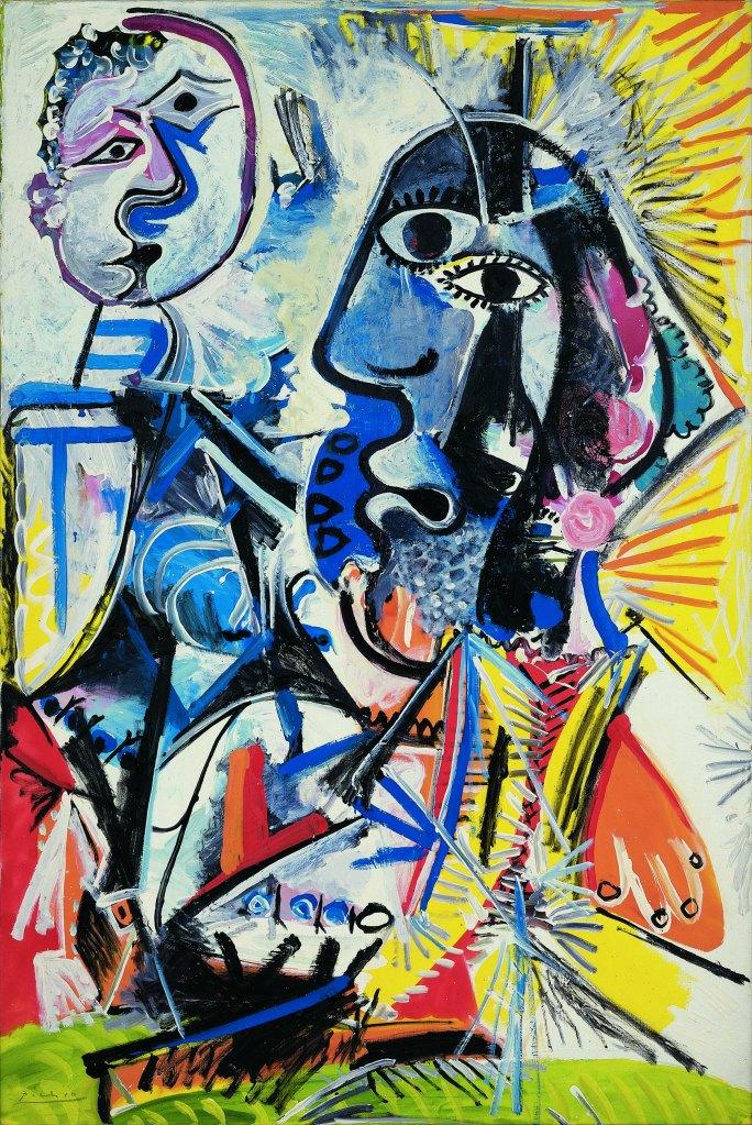 Cabeças Grandes / Big Heads (Pablo Picasso, 1969)