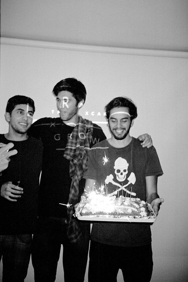 """Da esquerda para a direita: Guilherme, Rafael e Ivo. Por Vitor """"Bossa"""" Vieira"""