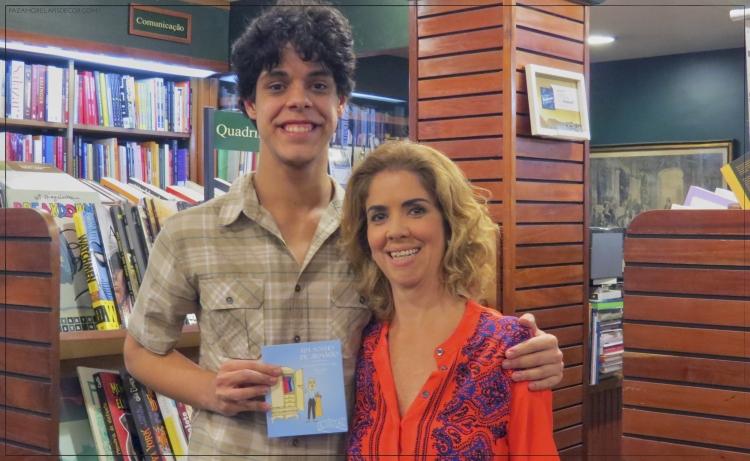 Lucas Naylor e Liza Kós (Foto: Mayra Nolasco)