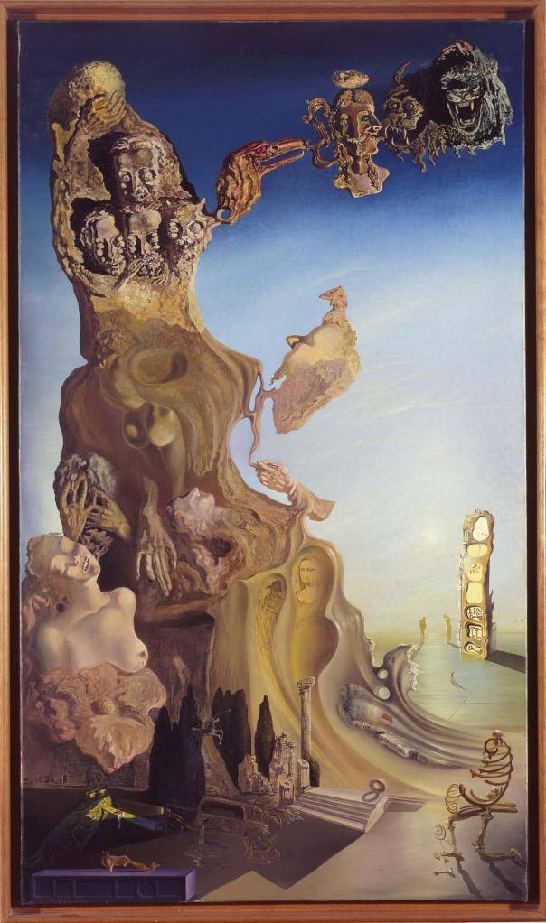 La memoria de la mujer‐niña, 1929. Museo Reina Sofía, Madrid. © Salvador Dalí, Fundació Gala‐Salvador Dalí, Figueres, 2014.