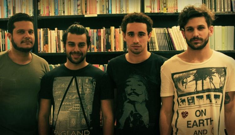 Victor Vergetti, Anthony Sayeg, Giuliano Laffayette e Anthony Garcia: Sociedade Invisível