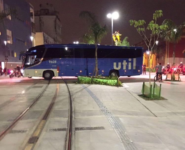 O ônibus da USAB